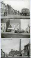 3 Cartes Postales - REPRODUCTIONS - Belgique - Frameries - Charbonnage - Rue Des Alliès - Rue De L'Egalité (DG15020) - Frameries