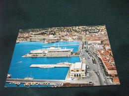 NAVE SHIP NAVIRE BOAT BATEAU TRAGHETTO TRIESTE VISIONE AEREA MOLO - Ferries