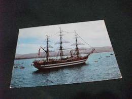 NAVE SHIP NAVIRE BOAT BATEAU VELIERO A. VESPUCCI LIVORNO - Voiliers