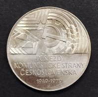 Cecoslovacchia Czechoslovakia 50 KORUN 1979 CONGRESSO PARTITO COMUNISTA   D.1163 - Czechoslovakia