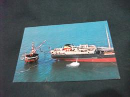 NAVE SHIP NAVIRE BOAT BATEAU COMMERCIO PETROLIERA BP MARINA DI RAVENNA ISOLA D'ACCIAIO DELLA SAROM - Pétroliers