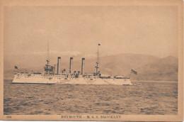 BATEAU - BOAT - NAVIRE -SHIP -  GUERRE - WAR -  LIBAN BEYROUTH USS BROOKLYN -   ETATS UNIS - Guerre