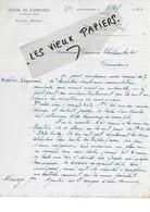 12 - Aveyron - ST-AFFRIQUE - Facture SERRES - Hôtel Du Commerce - 1922 - REF 176B - 1900 – 1949