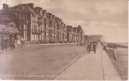 Seaford Esplanade Looking East Carte Postale Animee  1922 - Otros