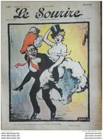 1905 Journal LE SOURIRE - GRÜN - MIRANDE - CADEL - GOTTOB - BERTRAND  ETC... - Altri
