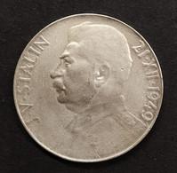 Cecoslovacchia Czechoslovakia 50 KORUN 1949 70th Compleanno Josef Stalin D.786 - Czechoslovakia