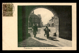 57 - PHALSBOURG - RUE DE LA PORTE D'ALLEMAGNE - Phalsbourg