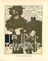 """PIERRE BONNARD - """" LA REVUE BLANCHE""""- Reprise D'une AFFICHE Au Format (21 X26 Cm) Pour Jeanne LANVIN  -COUTURE & PARFUM - Prenten & Gravure"""