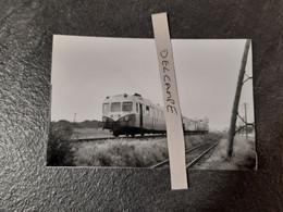 SNCF : Photo Originale M RIFAULT :autorail X 2800 à GERZAT (63) - Trains
