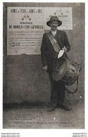 VERNEUIL Sur AVRE  Mobilisation Générale Du 1er Août 1914 Annoncée Par Le Tambour De Ville (recto-verso) - Verneuil-sur-Avre