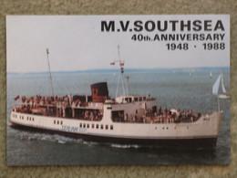 SEALINK SOUTHSEA 40TH ANNIVERSARY - Ferries