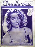 Cine Illustrato 11 Aprile 1939 Danielle Darrieux Calamai Strauss Romance Lodge - Film