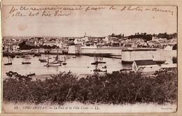 X29037 CONCARNEAU Finistère Le Port Et La Ville Close LEVY 44 - Concarneau