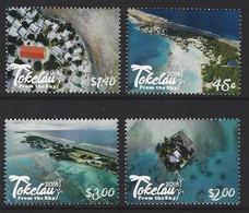 2018 Tokelau From The Sky, 4v. Tourism, Beaches, Landscapes MNH - Non Classificati