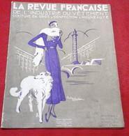 Revue Française Industrie Du Vêtement Octobre 1922 Halimbourg Akar Weill Hulman Larcher Toutmain Machines à Coudre Athos - 1900 - 1949