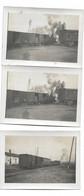 3 Photos Trains à Voir Et à Identifier.  6x9 - Trains