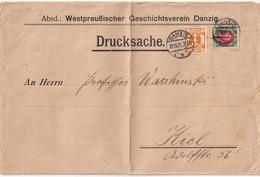 DANZIG 1921 LETTRE - Danzig