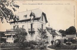 Thematiques 51 Marne Chalons Sur Vesle La Villa Guerre Européenne - Other Municipalities
