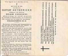 Melsen, Scheldewindeke, 1949, Gustaaf Heyndrickx, Coessens, Familie Vermesse, VErniers, Lejeune, Verstraeten - Santini