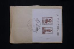 U.R.S.S. - Bloc N°1 Sur Enveloppe En 1937 - L 79695 - Briefe U. Dokumente