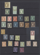 * France 1849-52 Essays And Colour Trials 10c., 15c. (3), 20c. (14), 25c. (3), 40c. (8), Mostly Different Colours Or Col - Sin Clasificación