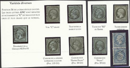 France  1861-69 Mint And Used Collection On Hagner Pages Including Perforated Empire 1c. Mint And Used (7) With Varietie - Sin Clasificación