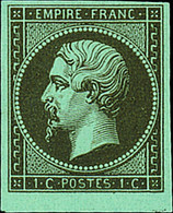 """France 1862 Perforated """"Empire"""" Issue 1c. Mordoré, Imperforate, Unmounted Mint; - Sin Clasificación"""