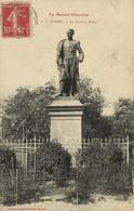 La Haute Garonne MURET  La Statue Niel Labouche Recto Verso - Muret