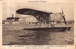 CHERBOURG  -  Centre D' Aviation Maritime  -  L ' Hydravion LATECOERE 29 .... - Cherbourg
