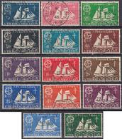 Saint-Pierre Et Miquelon 1940-1957 - N° 296 à 309 (YT) N° 305 à 318 (AM) Oblitérés. - Used Stamps