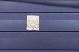 FRANCE - Variété - N° Yvert 21 Type Napoléon 10ct Avec Piquage Très Décalé En Bas, Oblitération étoile 7 - L 79708 - 1862 Napoleon III