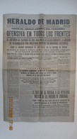 HERALDO DE MADRID Lunes 12 De Octobre De 1936 - Unclassified