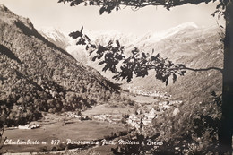 Cartolina - Chialamberto - Panorama E Frazione Mottera E Breno - 1950 Ca. - Unclassified