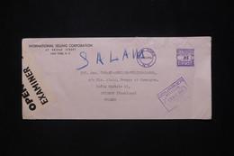 ETATS UNIS - Enveloppe Commerciale De New York Pour La France En 1941avec Contrôle Postal - L 79714 - Briefe U. Dokumente