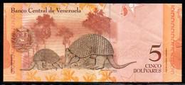 552-Venezuela Billet De 5 Bolivares 2007 B031 - Venezuela