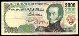 552-Venezuela Billet De 2000 Bolivares 1998 F494 - Venezuela