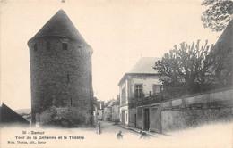 SEMUR - Tour De La Géhenne Et Le Théâtre - Semur