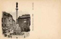 """Roma - Antica Cartolina Postale """"Carte Postale D'Italie"""" MONUMENTO DELLA CONCEZIONE, Tipog. Pistolesi - D14D - Other Monuments & Buildings"""