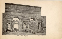 "Roma - Antica Cartolina Postale ""Carte Postale D'Italie"" PORTA MAGGIORE, Tipog. Pistolesi - D14D - Other Monuments & Buildings"
