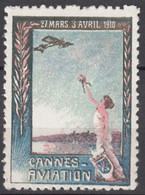 Vignette Cannes Aviation 1910 - Aviación