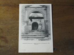 BOUESSAY - Eglise Incendiée Le 30 Septembre 1912 (portail) - Otros Municipios
