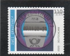 DEUTSCHLAND 2020 ZWEI GRAUTONE USED - Used Stamps