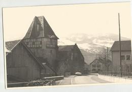 VADUZ (LIECHTENSTEIN) FOTOCARTOLINA DELLA CASA ROSSA -ANNI '50 - Liechtenstein
