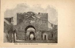 "Roma - Antica Cartolina Postale ""Carte Postale D'Italie"" ARCO DI DRUSO, Lato Settentrionale, Tipog. Pistolesi - D14D - Other Monuments & Buildings"