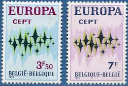 BELGIQUE - EUROPA 1972 - 1972
