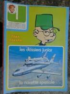 Junior Hebdomadaire N° 2 / Janvier 1977 - Disney