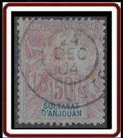 Anjouan - N° 11 (YT) N° 11 (AM) Oblitéré. Deux Dents Courtes. - Used Stamps