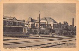 Liege Luik  Spa  Vue Générale Des Installations La Gare Station Statie Spa Monopole Centre Carbogazeuses      Barry 6858 - Spa