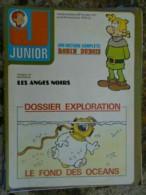 Junior Hebdomadaire N° 47 / Novembre 1976 - Disney