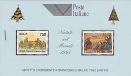Italia - 1995 - Natale Libretto Ricordo (n° 3 Libretti Con Colori Di Copertina Diversi) LR8-LR8a-LR8b MNH** - Carnets